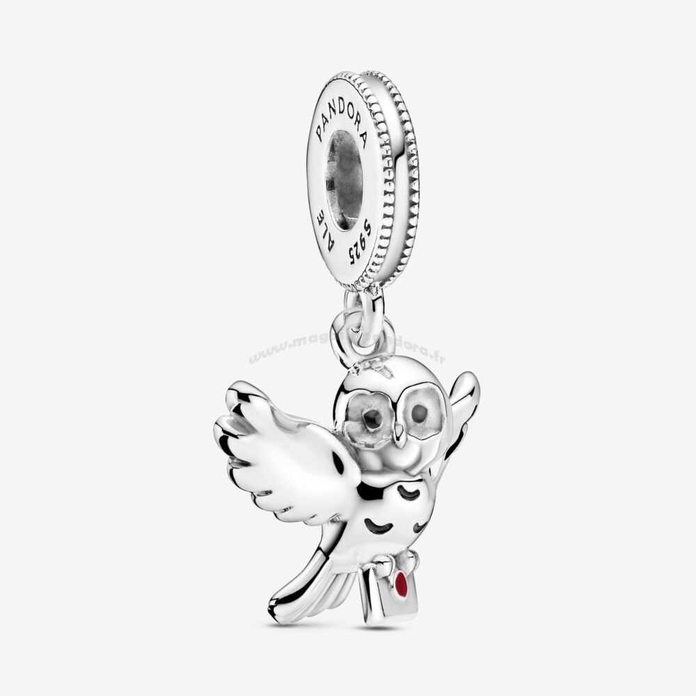 Bijoux Fantaisie Harry Potter, Hedwig Owl Dangle Charm Accessoires