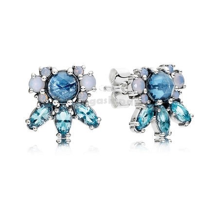 Bijoux Fantaisie Boucles d'oreilles Patterns of Frost Stud Multi Colored Crystal Accessoires