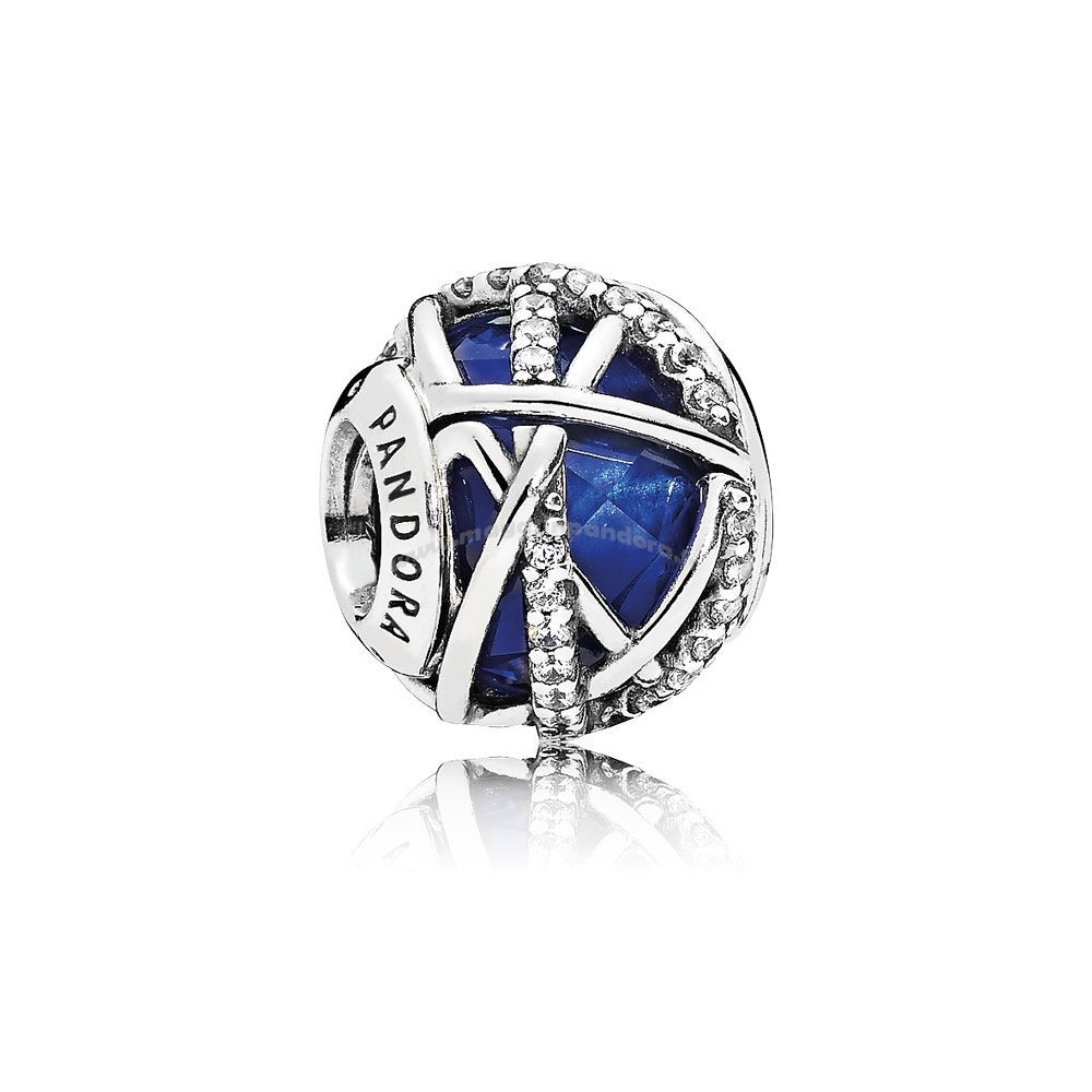 Bijoux Fantaisie Collection Hiver Galaxy Royal Blue CrystalClear CZ Accessoires