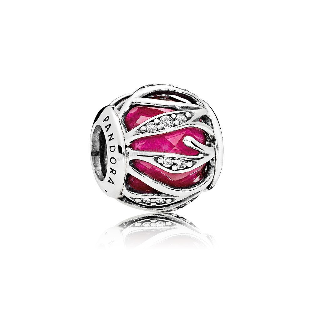Bijoux Fantaisie Nature Charms Nature's Radiance Synthétique Ruby Clear CZ Accessoires