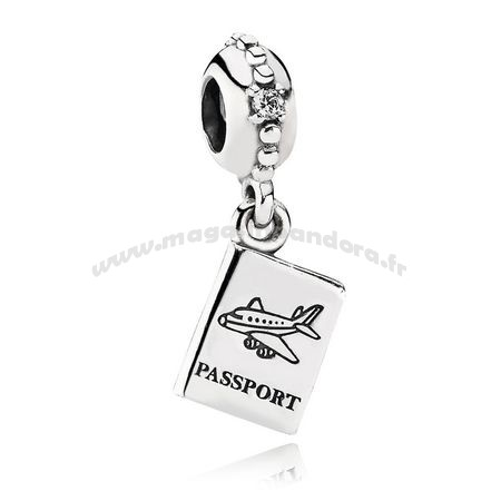 Bijoux Fantaisie PANDORA Dangles Aventure Awaits Dangle Charm Clear CZ Accessoires