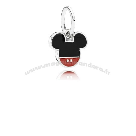 Bijoux Fantaisie PANDORA Disney Charms Mickey Icon Dangle Charme Mixed émail Accessoires