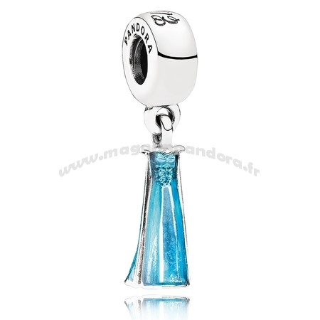Bijoux Fantaisie PANDORA Disney Collection Disney Perles d'Elsa Dangle Charm Mixed Enamel Accessoires