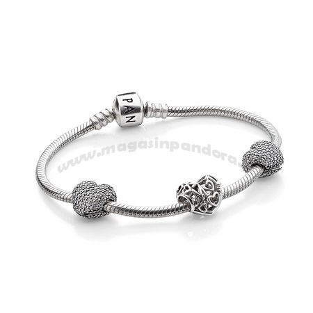Bijoux Fantaisie PANDORA For Family Gifts Motherly Amour Bracelet Accessoires