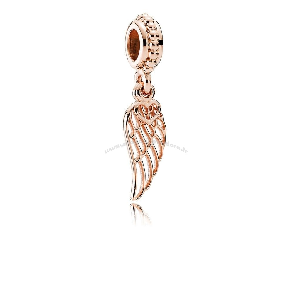 Bijoux Fantaisie PANDORA Inspirational Charms Amour Guidance Dangle Charm PANDORA Rose Accessoires